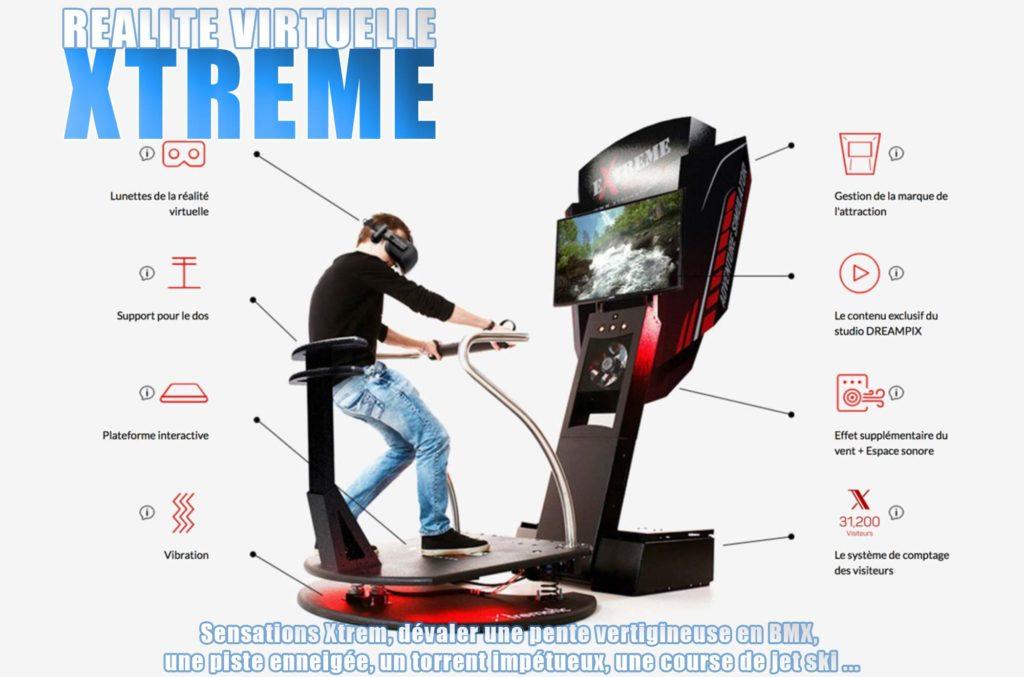 xtreme réalité virtuelle Elite Games salle de jeux réalité virtuelle